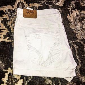 NWT Hollister high waisted short shorts